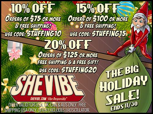 SheVibe Black Friday Sale