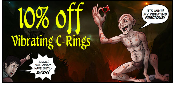 Sale on Vibrating Cock Rings