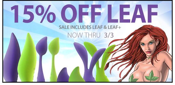 Sale on Leaf Vibrators