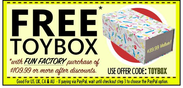 SheVibe Fun Factory Free Gift
