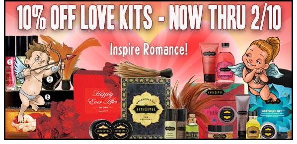 10% off Love Kits