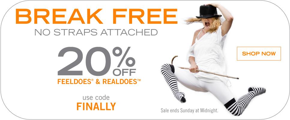 Tantus Flash Sale: 20% off Feeldoes