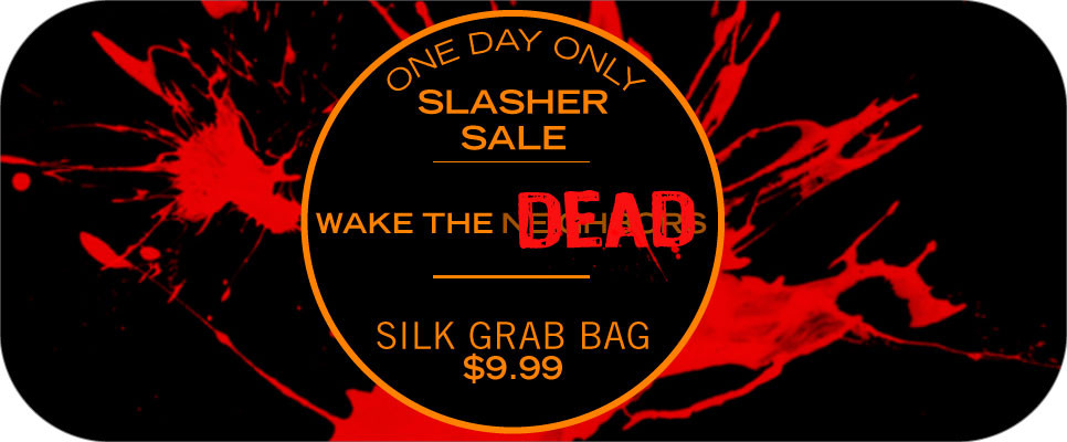 Limited Time Tantus Wake the Dead Sale on Silk Large Grab Bag Dildos