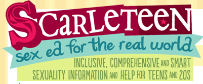 Donate to Scarleteen! Providers of age-appropriate sex info.