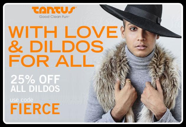 September Tantus Sale - 25% off ALL dildos