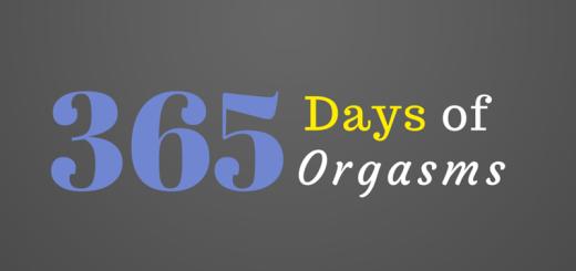 365 days of orgasms