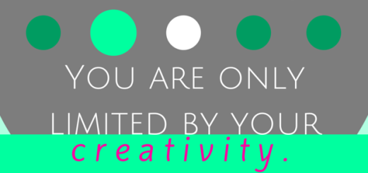 you are only limited by your creativity