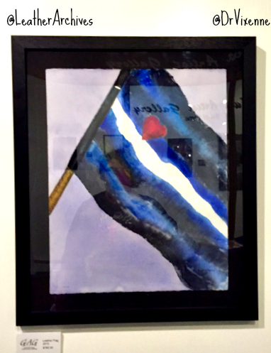 BDSM Pride Flag Painting at the Leather Archives & Museum
