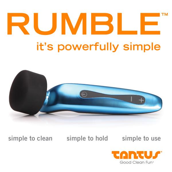 New Tantus Rumble Vibrator